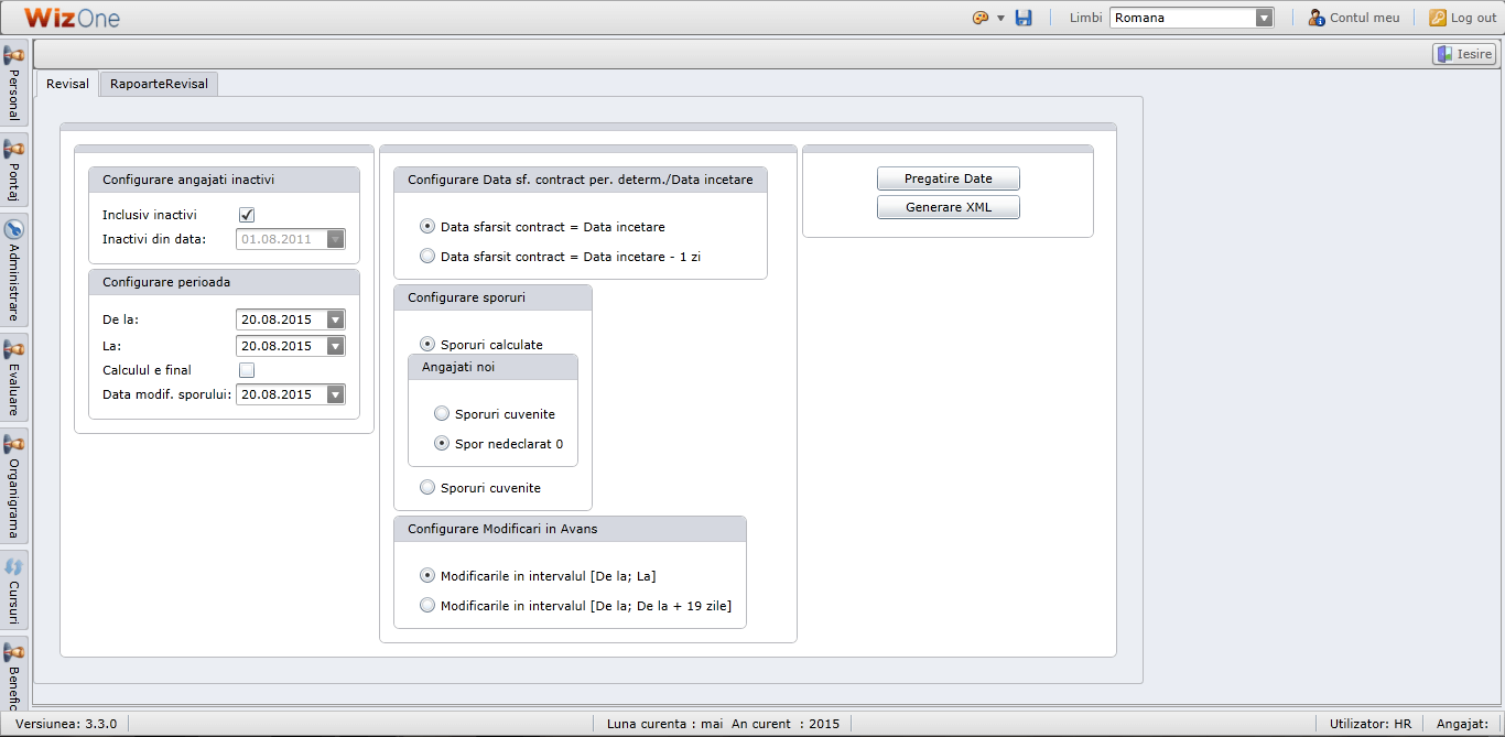 Software resurse umane WizOne | Wizrom